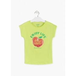 T-shirt lime avec réservoir...