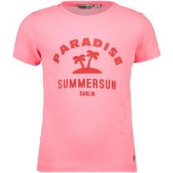 Palmtree - T-shirt rose diva