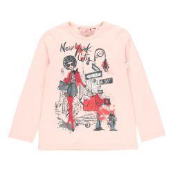 Prévente - N.Y. - T-shirt rose