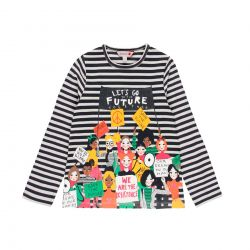 Prévente - Kids for Change - T-shirt rayé