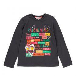 Prévente - Kids for Change - T-shirt anthracite