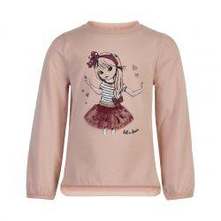 T-shirt rose smoke Let's dance