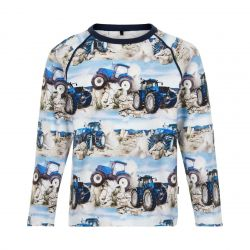 T-shirt aop tracteur