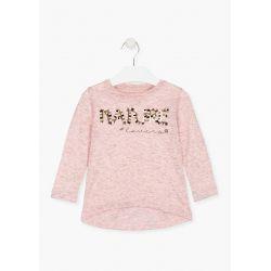 Prévente - Nomad - T-shirt rose chiné