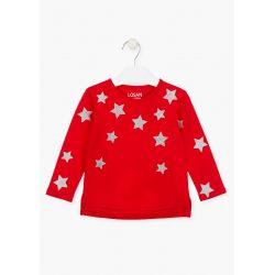 Prévente - Basic - T-shirt rouge avec étoiles