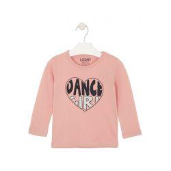 Prévente - College - T-shirt vieux rose