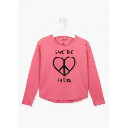 Prévente - Save the future -T-shirt groseille