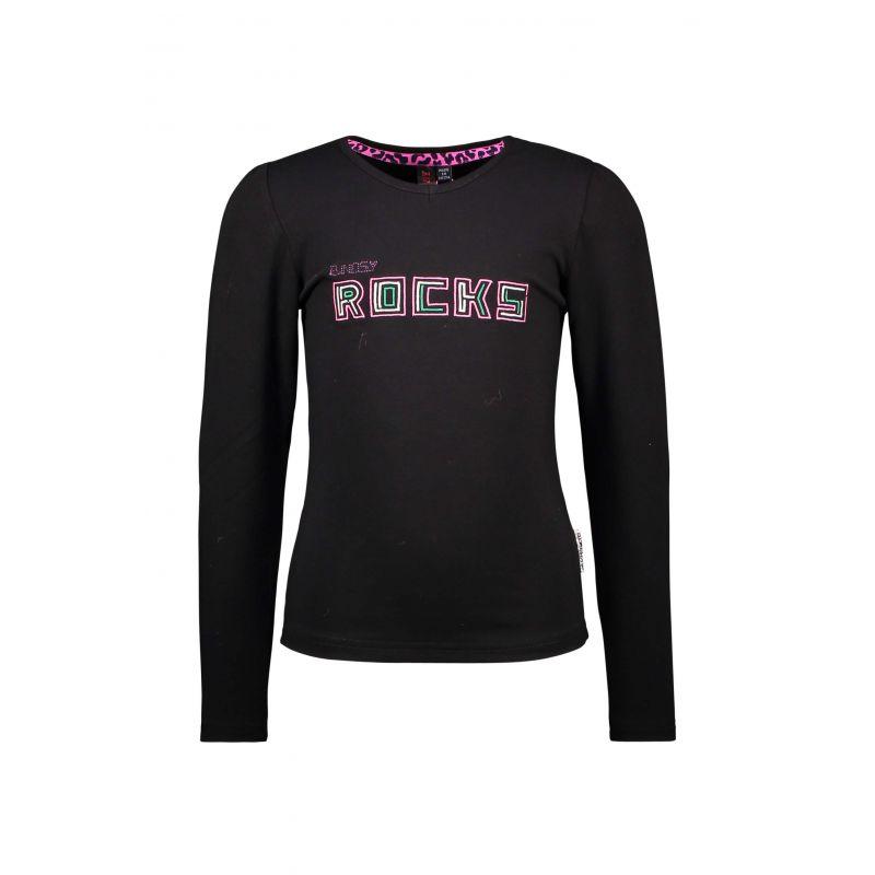 B.A Rockstar - T-shirt noir Rocks