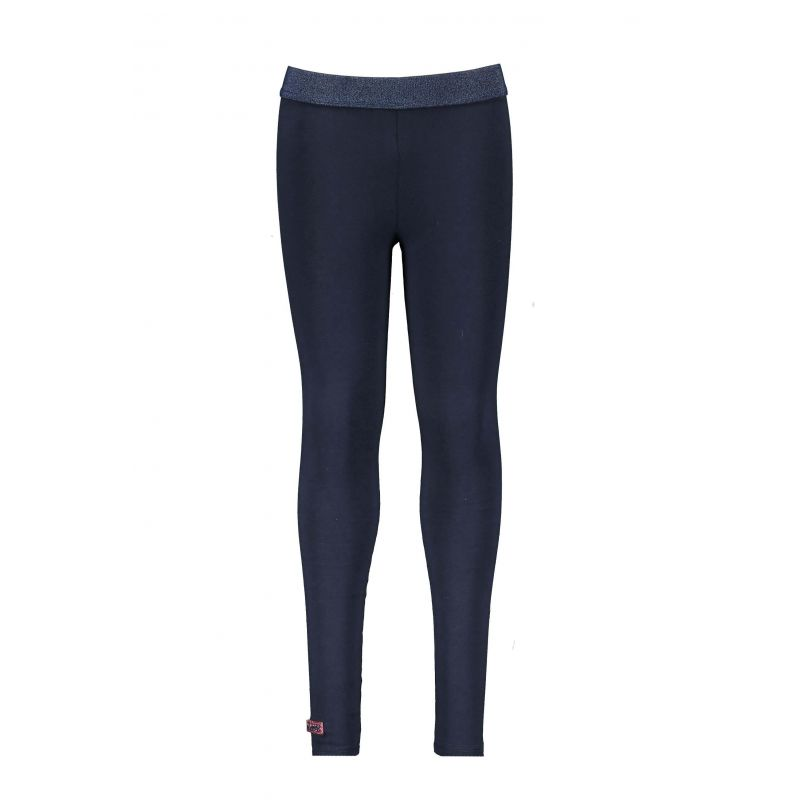Legging bleu oxford