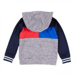 Sweatshirt athletique marine et gris