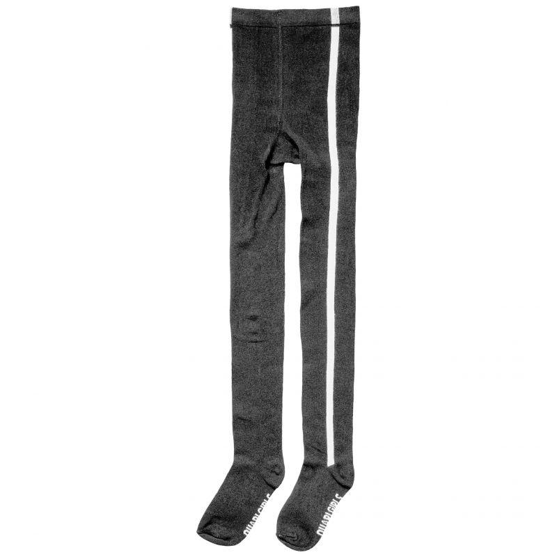 Prévente - Quapi - Collant noir avec bande blanche