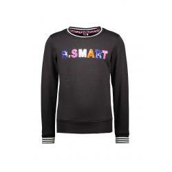 Prévente - B.Smart - Chandail noir avec paillettes