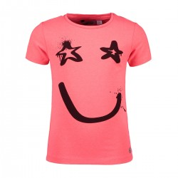 Smile Zone - T-shirt rose diva