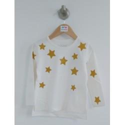 Basic - t-shirt écru avec...