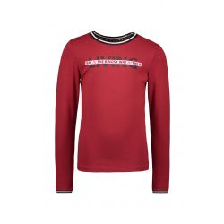 Prévente - B.Trendy - T-shirt rouge rio Living