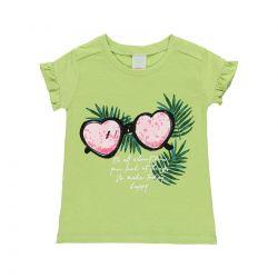 Prévente - Tropic Sunset - T-shirt vert
