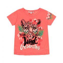 Prévente - Tropic Sunset - T-shirt corail
