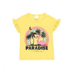 Prévente - Chasing The Sun - T-shirt citron