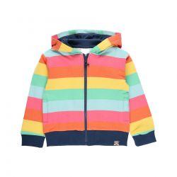 Prévente - Chasing The Sun - Cardigan à rayures multicolores