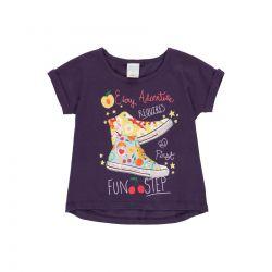 Prévente - Summer Fruits - T-shirt violet