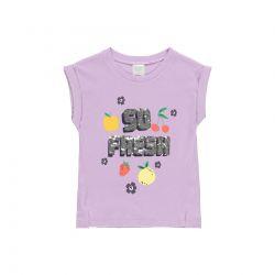 Prévente - Summer Fruits - T-shirt  lilas