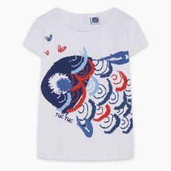 Prévente - Kamogawa - T-shirt blanc