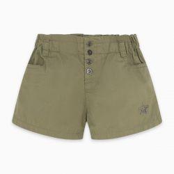 Prévente - Basic - Short en twill kaki