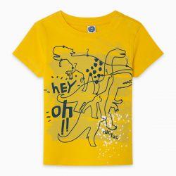 Prévente - Draw A Rex - T-shirt jaune