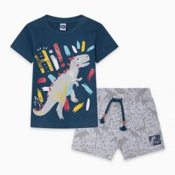Prévente - Draw A Rex - T-shirt marine