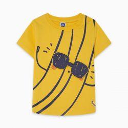 Prévente - Tropicool - T-shirt jaune