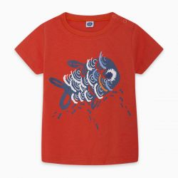 Prévente - Kamogawa - T-shirt rouge