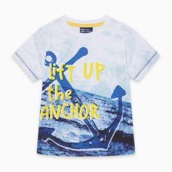 Prévente - See Breeze - T-shirt blanc imprimé ancre