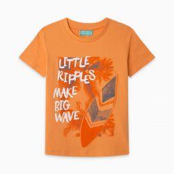 Prévente - Just Surf - T-shirt orange