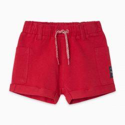Prévente - Basic - Bermuda rouge