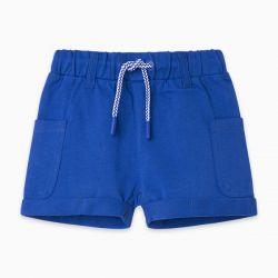 Prévente - Basic - Bermuda bleu royal