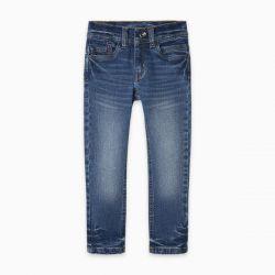 Prévente - Basic - pantalon en denim bleu