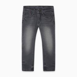 Prévente - Basic - Pantalon en denim gris