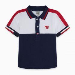 Prévente - Basic - Polo marine, blanc, rouge