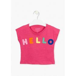 Prévente - Colorful Day - T-shirt fuschia