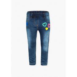 Prévente - Colorful Day - Pantalon en denim avec broderies