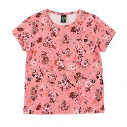 Prévente - Esprit Bohémien - T-shirt pêche imprimé