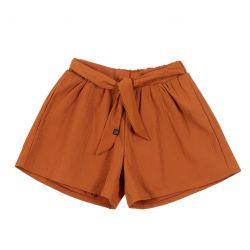 Prévente - Esprit Bohémien - Jupe-short ambre
