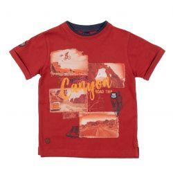 Prévente - Désert du Nevada - T-shirt rouge