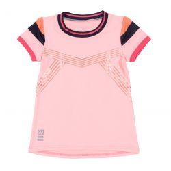 Prévente - Sport & Chic - T-shirt athlétique corail