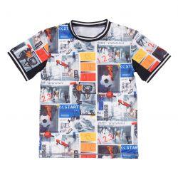 Prévente - Viser Haut - T-shirt athlétique imprimé