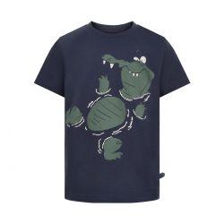 Prévente - Minymo - T-shirt blue nights croco