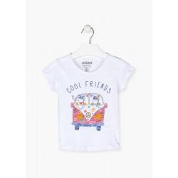 Camp Friend - T-shirt blanc