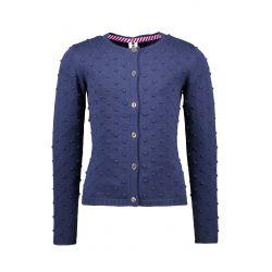 Prévente - B.Good - Cardigan en tricot fin space blue