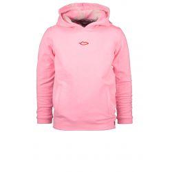 Prévente - Powert of the Flower - Sweatshirt à capuchon rose scintillant