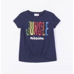 Prévente - Jungle Mission - T-shirt marine